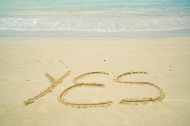 YES- Beach sand